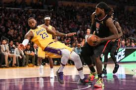 Lakers-Clippers Highlights: LeBron James chasing Michael Jordan ...