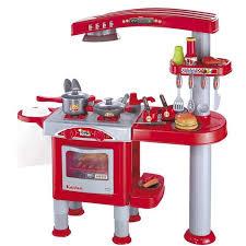 Cocina Infantil Roja Con Accesorios De Cocina 72300883   TACHAN   Juguetes  Abracadabra