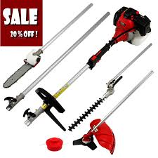 2017 new power garden hedge trimmer 5 in 1 petrol strimmer chainsaw brush cutter multi tool 52cc 1 75kw 2 stroke engine in gr trimmer from tools on