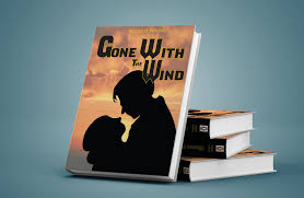 gone with the wind book cover project by katharinemhaire