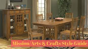 interior design style guide mission arts crafts hm etc arts and crafts dining room