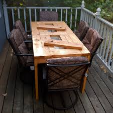 Dining Tables  Rustic Metal And Wood Dining Table White Washed Outdoor Wood Furniture Sale