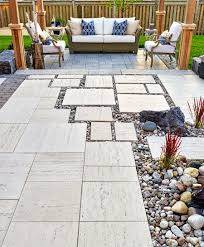 backyard patio design ideas stone