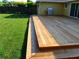 deck over brick patio building
