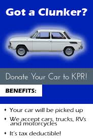 Vehicles for Charity | Kansas Public Radio