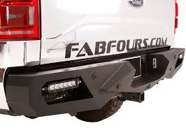 Fab Fours Vengeance Rear Bumper - Replacement Tail Bumper Ships Free