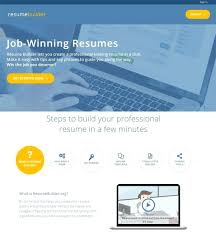 Free Templates For Resume Writing template Resume Building Template Builder Free Builders Templates 56