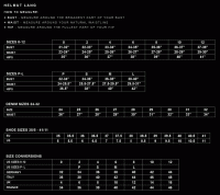 Givenchy Men S Size Chart Givenchy Mens Size Chart Givenchy Sizing Chart