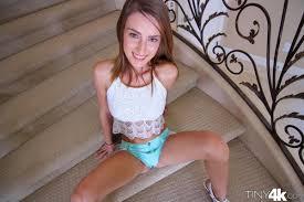 Maci Winslett Stairway Striptease
