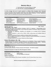 medical office manager resume example sample medical coding resume