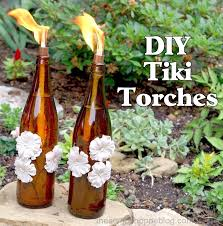 diy tiki torches upcycle bottles into portable mosquito repellents