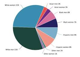 Usa Ethnicity Pie Chart 2017 Sage Musings Women And Minorities In Science And Engineering