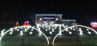 Liberty Light Show Christmas