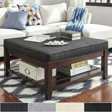 ottoman and coffee table espresso planked storage ottoman coffee table by inspire q classic ottoman coffee ottoman and coffee table