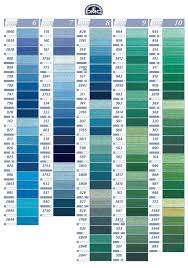 12 Methodical Dmc Tapestry Wool Colour Chart