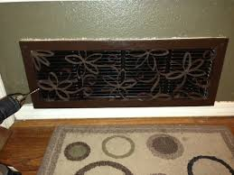diy cool decorative air vent cover via s