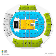 Atlanta State Farm Arena Seating Chart The Eagles Atlanta Tickets 2 7 2020 Vivid Seats