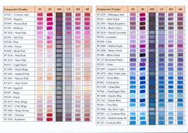 Lyra Rembrandt Polycolor Colour Chart New Coloured Pencil Conversion Charts By Karen Hull