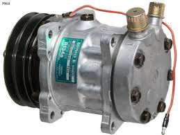 compresor de aire acondicionado de autos. compresor axial r134 de aire acondicionado autos e