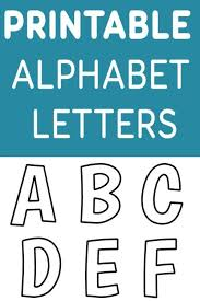 Templates Alphabet Letters Free Printable Alphabet Templates Printable Alphabet