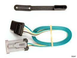 curt mfg 55247 1999 2001 ford f250 super duty trailer wiring ford f250 trailer wiring kit 1999 2001 by curt mfg 55247
