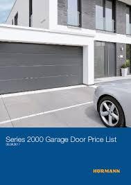 hormann garage doorUp and Over Garage Doors from Hrmann UK