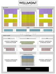 Murmrr Seating Chart Seating Chart Hybrid The Wellmont Theater