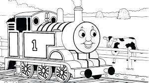 Train Coloring Pages Coloring Page The Train 8 Thomas Train Coloring