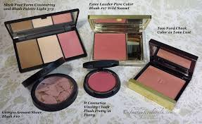 parisons clockwise sleek face form palette light 373 blush estee lauder pure color blush