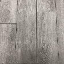 elevation true grout vinyl planks 7 x 36 silver grey 12 box rona