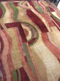 area rug 8 x bohemian earth tones jewel tone household in toned oriental