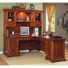 full size of light brown wooden computer desk with hutch and drawers also glass door on