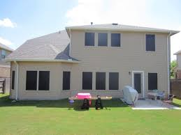 this is the west facing side of the home we used our 90 solar