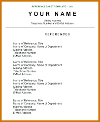 do you list references on a resumes job search reference list format examples of references for resumes