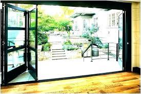 folding garage door accordion doors co in wooden plans hardware patio conversion r exterior rs large fiber patio garage doors