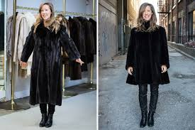 how i transformed a family heirloom and made an old fur coat cool again fashion