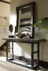 wooden console table. Iron Wood Console Table 4 Wooden