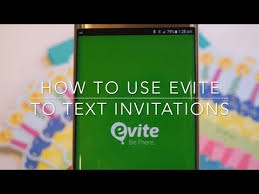 Text Invitations How To Use Evite To Text Invitations To Your Guests Youtube
