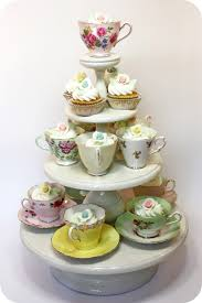 Decorating With Teacups And Saucers Lookbook edible wedding favour ideas Tea cup Teas and Display 16