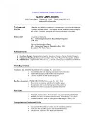 Functional Resume Format Resumes Chrono Functional Samples