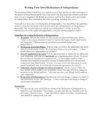 essay declaration essay
