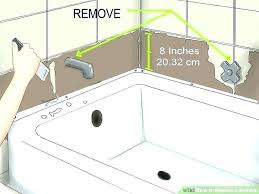 how to change bathtub faucet how to replace bathtub faucet stem replacing fixtures image titled a how to change bathtub faucet