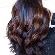 35 y black hair with highlights you