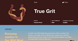 True Grit Quotes Course Hero