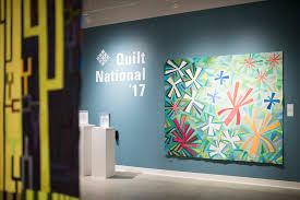 Quilt National '17 — Foundry Art Centre & Photos of Quilt National '17 at the Foundry Art Centre: Adamdwight.com