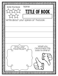 Book Report Template Interesting Awesome Book Report Template For 44nd Grade 44 Best Book Review