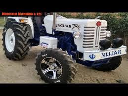modified mahindra di 275 tractor look