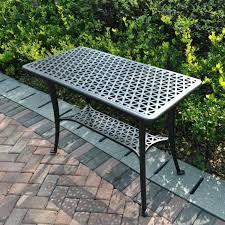 bbq table rectangular cast aluminium metal garden furniture side table 1 rectangular cast aluminium metal garden bbq table outdoor