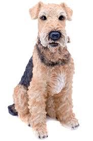 dog garden statue. Airedale Terrier Dog Garden Statue Sitting R