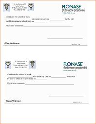 8 Printable Fake Doctors Notes Free Registration